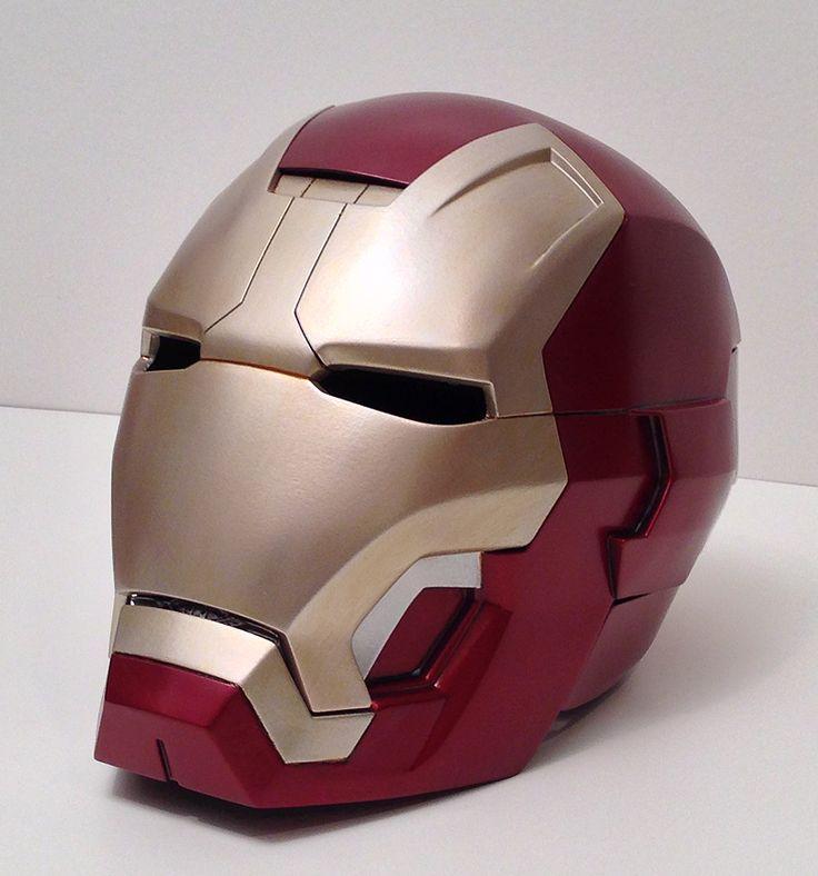how to make iron man helmet with cardboard festive days. Black Bedroom Furniture Sets. Home Design Ideas
