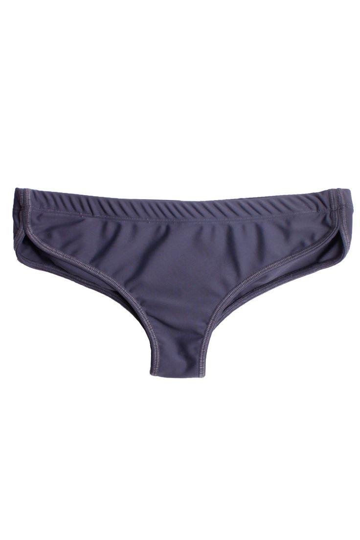 Retro Trackshort Bikini Bottom