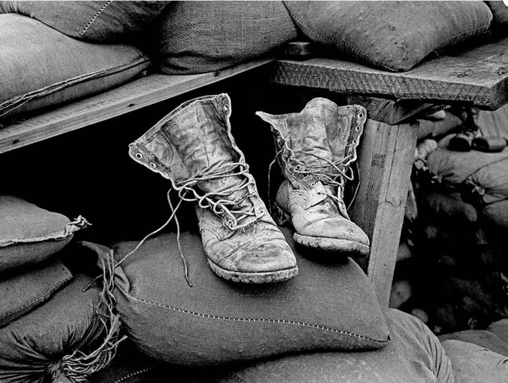 Dick Durance - love the textures in this image, especially on the boots.  I feel black and white was a very good choice for this image, whether or not it was already shot that way (film), like it nonetheless.