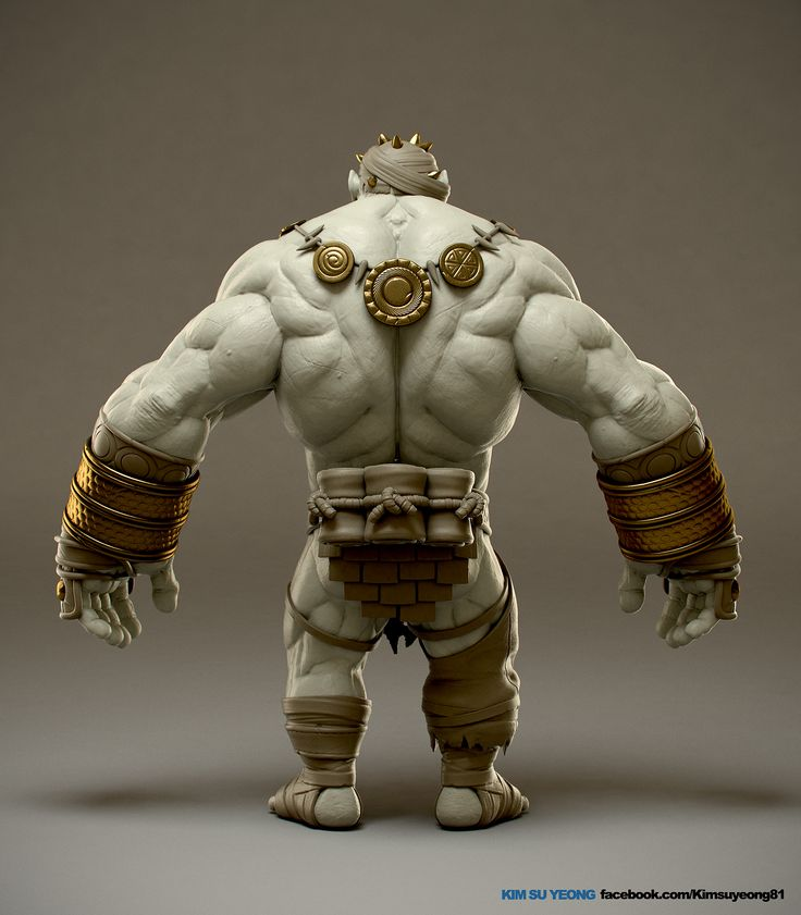www.facebook.com/... This work is korean mmorpg character. ZBrush, Vray, 3ds Max, Photoshop 2012.01