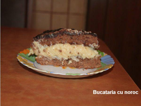 Bucataria cu noroc - Prajitura Pepsi, prajitura cu ciocolata si crema