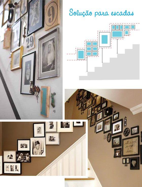 Como decorar tus paredes: solución para escaleras
