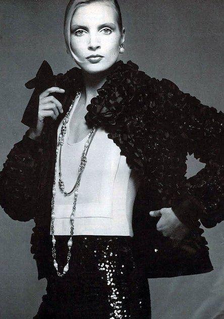 1972 - Chanel sequin ensemble