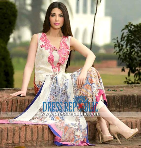Sobia Nazir Spring Summer Lawn Collection 2014   by www.dressrepublic.com
