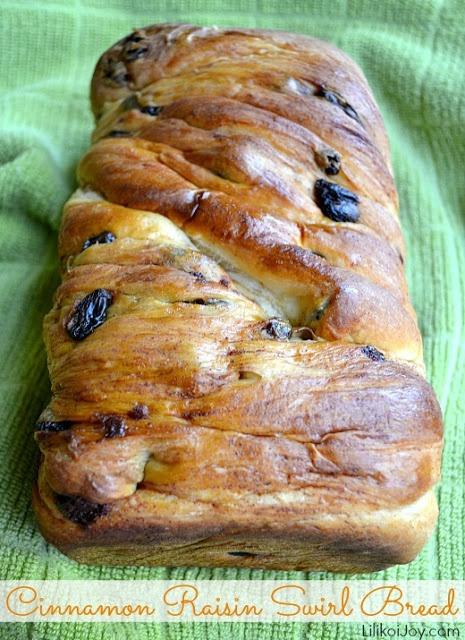 Cinnamon Raisin Swirl Bread   Bread   Pinterest