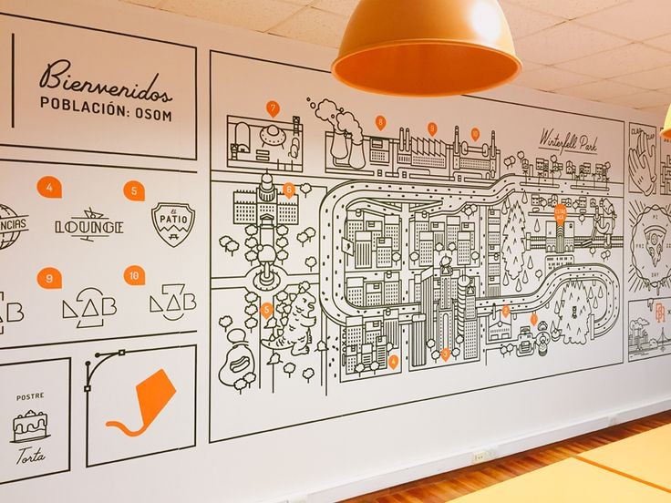 The mural it's alive! by Gustavo Zambelli #Design Popular #Dribbble #shots