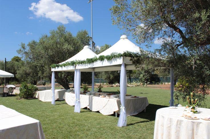 Pool Buffet at Masseria Corda di Lana #buffet #masseria #wedding #party www.masseriacordadilana.it