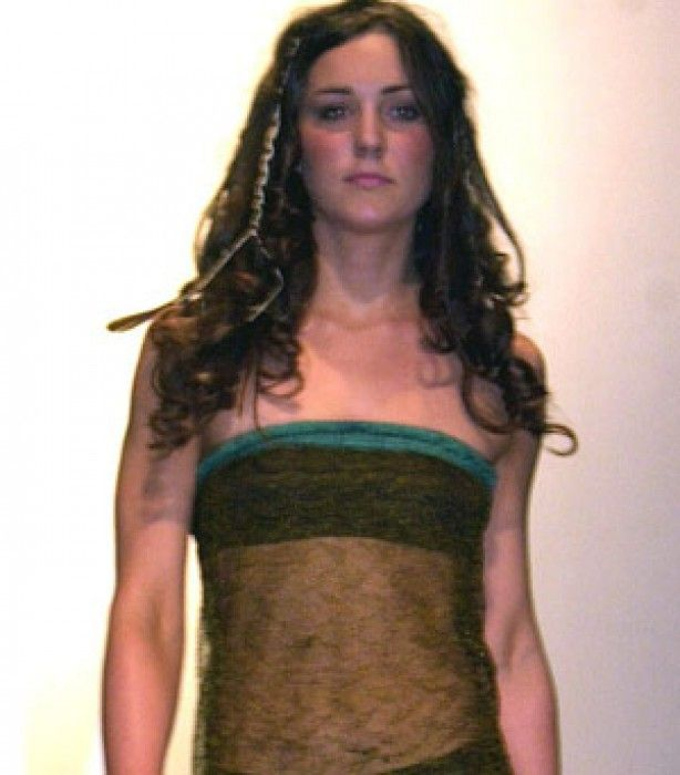 Kate Middleton 2002: Charity fashion show - Kate Middleton's life in pictures