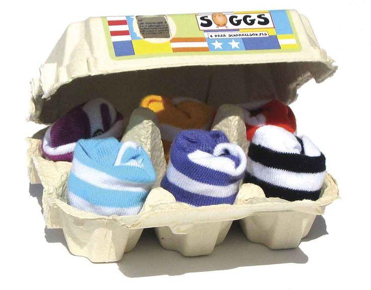 Huevera calcetines Rayas