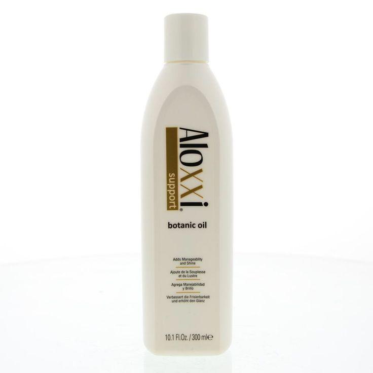 Aloxxi Support Botanic Oil Olie Alle Haartypen 300ml  Description: Aloxxi Botanic Oil.Essentiële natuurlijke olieën voegen een ongelooflijke glans toe en herstelt het vochtgehalte van je haar en verbetert de elasticiteit. Op de huid zal Botanic Oil grondig hydrateren en de soepelheid verbetereren. Verzacht ruwe en droge gebieden. Op je nagels zal Botanic Oil de nagelstructuur versterken en verbetert de gezondheid van de nagelriemen. De essentiële natuurlijke olieën van Botanic Oil hebben een…