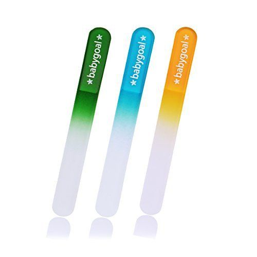 Product Details BABYGOAL nail files are the easiest and safest way to keep your baby's nails trimmed!. Don't risk cutting your baby with sharp Nail Clippers & Nail Scissors! These files are finest safe to touch, delicate, smooth and rounded. No sharp or pointy...