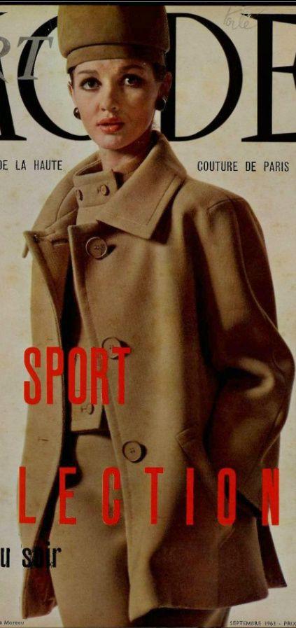 1963 Christian Dior   Vintage coat, Fashion history, 60s ...
