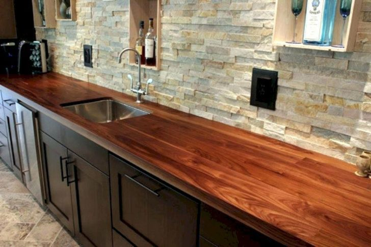 15 Astonishing Wooden Kitchen Countertop Ideas You Have To Know With Images Wooden Countertops Kitchen Wood Countertops Kitchen Outdoor Kitchen Countertops