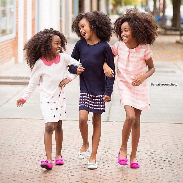 "elegancebeautywealth: "" trebled-negrita-princess: "" dynastylnoire: "" The baybeeees "" love em "" This made me smile. """