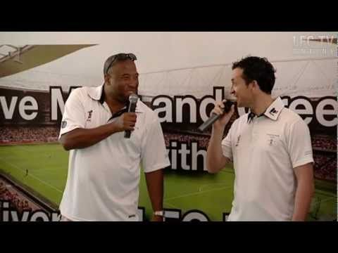 Barnes & Fowler do the Anfield rap