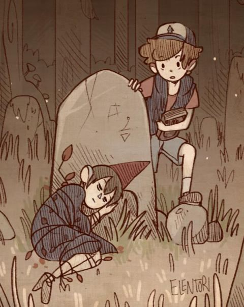 and over the garden wall by ∞Dolce Carezza ∞ | We Heart It