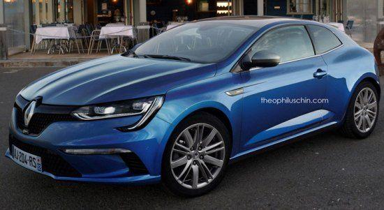 Deze Renault Mégane 3-deurs photoshop klopt gewoon