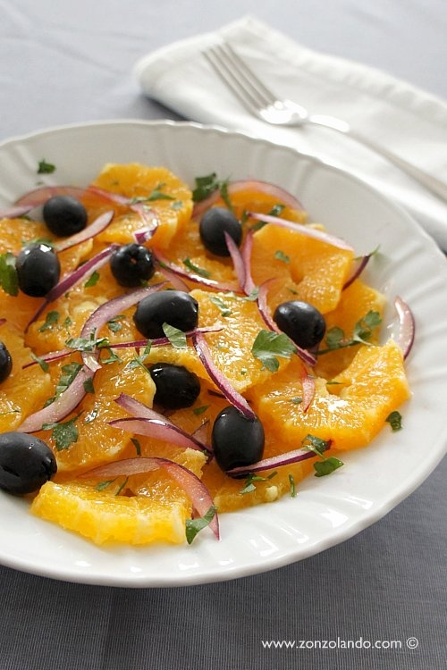 Insalata di arance - Orange salad | From Zonzolando.com