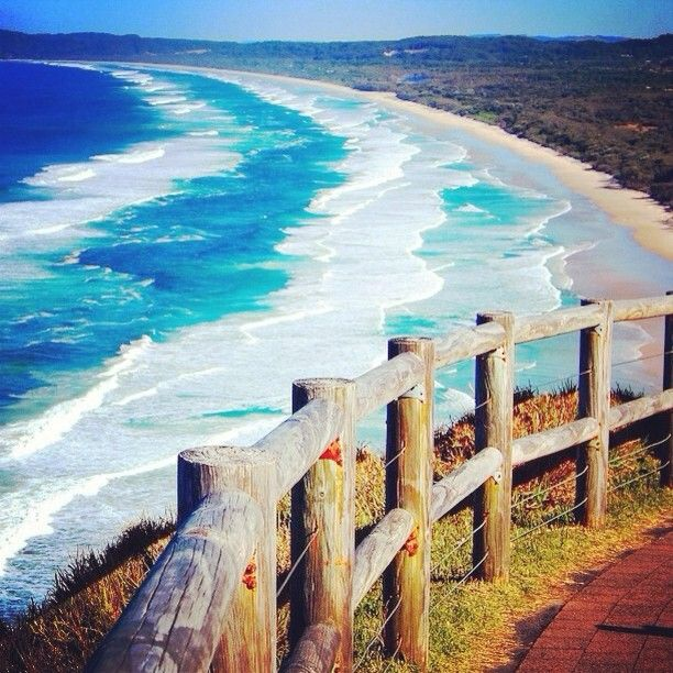 We Love Byron: Home to some of the most amazing beaches in the world. #SkydiveAustralia #ByronBay #Australia #travel #bucketlist #beach #nature #photography