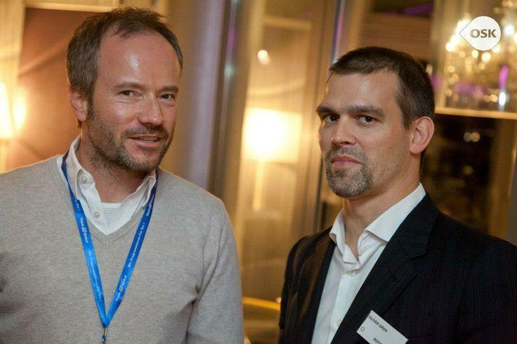 Mit Oliver Gross auf dem OSK 16.0 im Rotonda Business Club