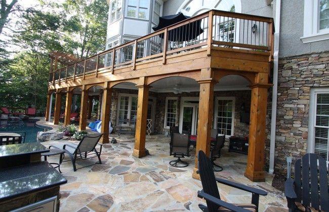 Cedar Wrapped Porch Posts Google Search Porch Posts