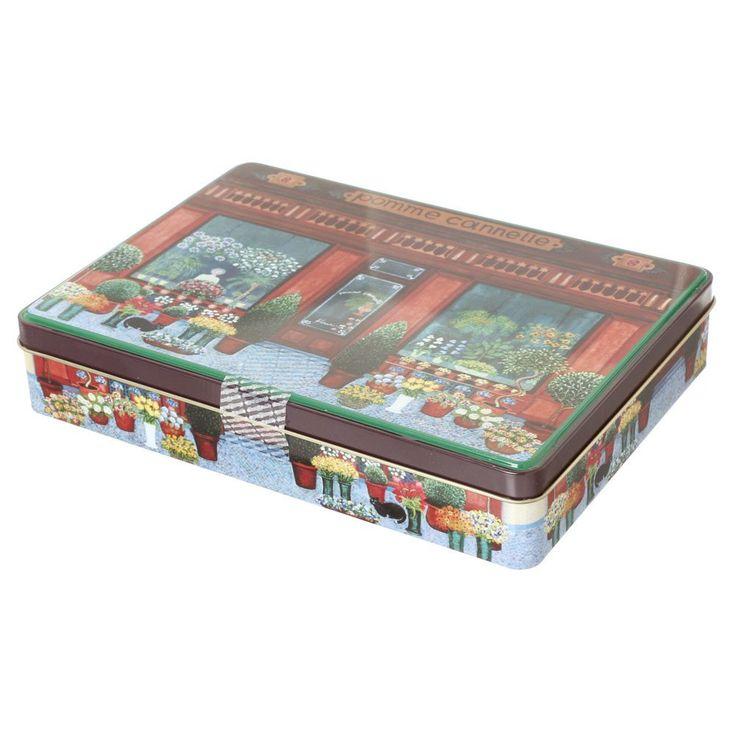 Amazon.co.jp: デストルーパー クッキー フラワーブティック缶 250g: 食品・飲料・お酒 通販