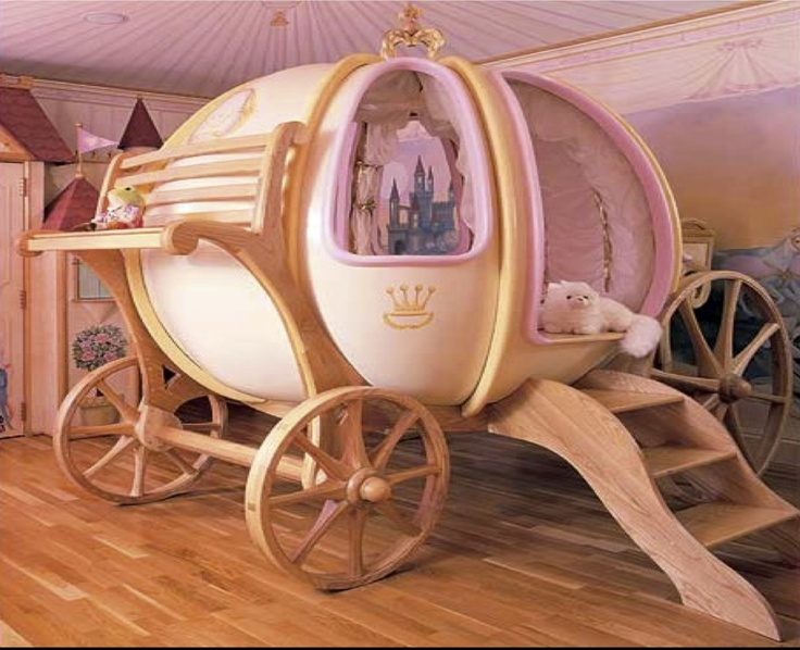 Best For A Little Princess Carriage Bed Cinderella 640 x 480