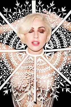 Lady Gaga, Terry Richardson for Harpers Bazaar