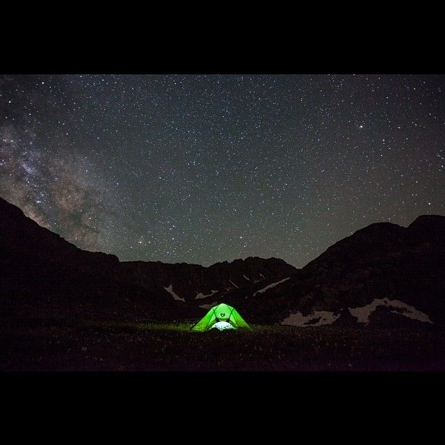 Bright green glowing tent at night. & 17 best Glowing Tents images on Pinterest | Camping outdoors Tent ...