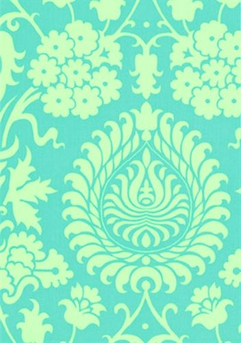 Stitch - Make something beautiful today. Turquoise, Amy Butler