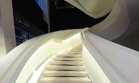The Armani store on Fifth Avenue NY by Doriana and Massimiliano Fuksas _: Staircase, Nicole Stair, Stairway Art