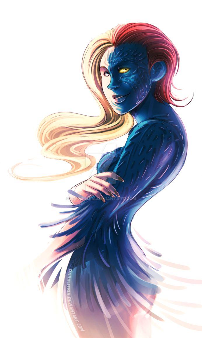 X-men first class: Mystique by DarkLitria