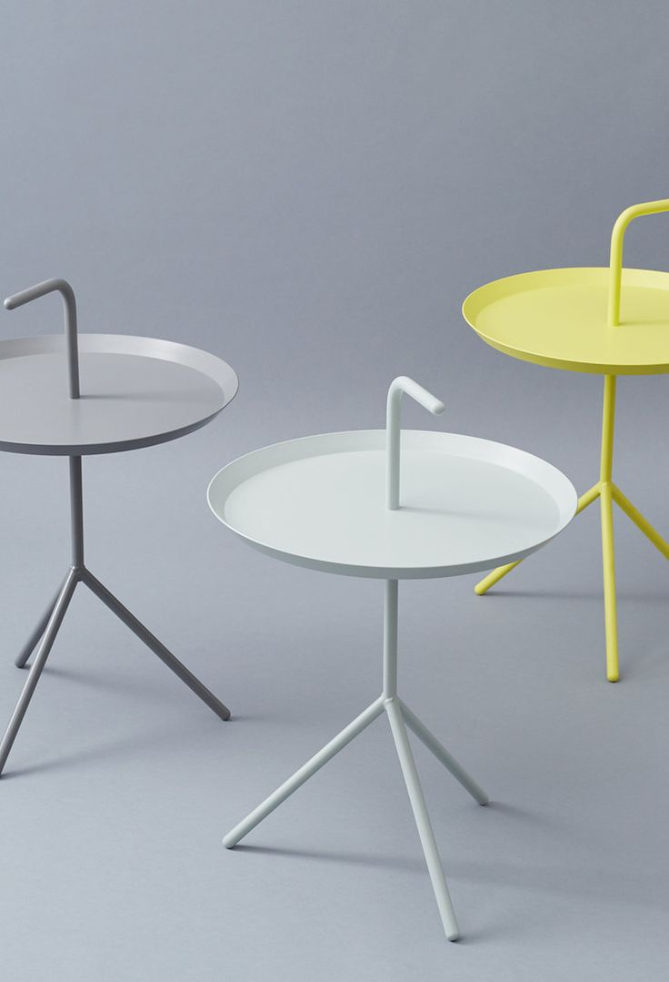 Productnaam: DLM Side Table, Merk: Hay, Ontwerper: Thomas Bentzen, Land: Denemarken.