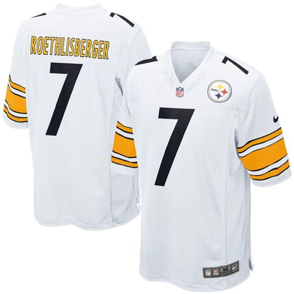 Ben Roethlisberger Pittsburgh Steelers Nike Youth Game Jersey - White - $74.99
