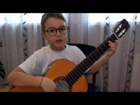 Учимся игре на гитаре! 2 урок Звукоряд!