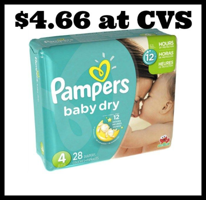 CVS - Pampers Jumbo Packs only $4.66! - http://dealmama.com/2017/09/cvs-pampers-jumbo-packs-4-66/