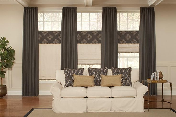 We are obsessed with this drapery style statement that is perfectly on trend. It's proof that the right set of draperies can add an even more dramatic style statement to your current window treatments. Window Wear is your local one-stop-shop for all of your window decor needs. Our dedicated design team is simply a call away. Call our dedicated design team at (720) 285-2112 for a Free In-Home Estimate today! #CentennialDrapes #DenverDrapes #DraperiesDenver #DenverShutters
