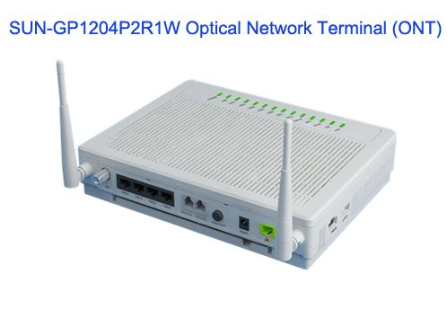 SUN-GP1204P2R1W Optical Network Terminal (ONT) - GPON Solutions - Sun Telecom-Fiber Optic Solutions Provider