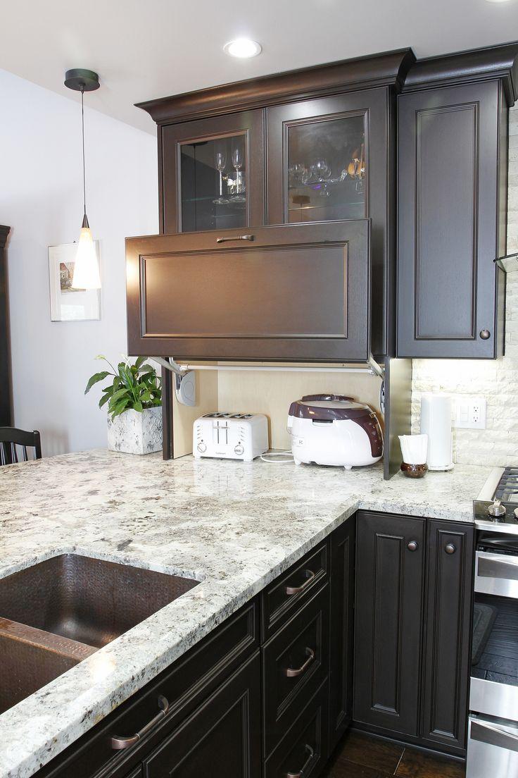 Appliance Garages Kitchen Cabinets 17 Best Images About Kitchen Storage Solutions On Pinterest