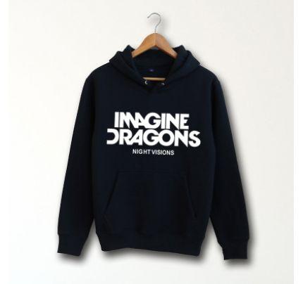 Imagine Dragons Logo Pullover Hoodie
