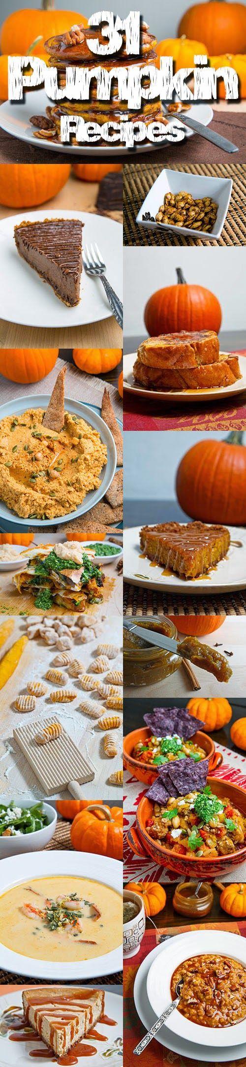 31 Pumpkin Recipes | Closet Cooking | Bloglovin'
