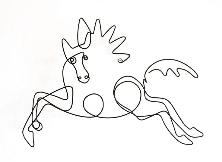 Picasso's line drawings are incredibly chic art ideas to make your home feel more sophisticated
