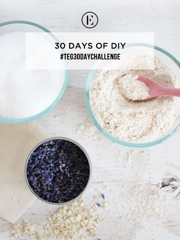 30 Day Challenge: Save Money with DIY #theeverygirl