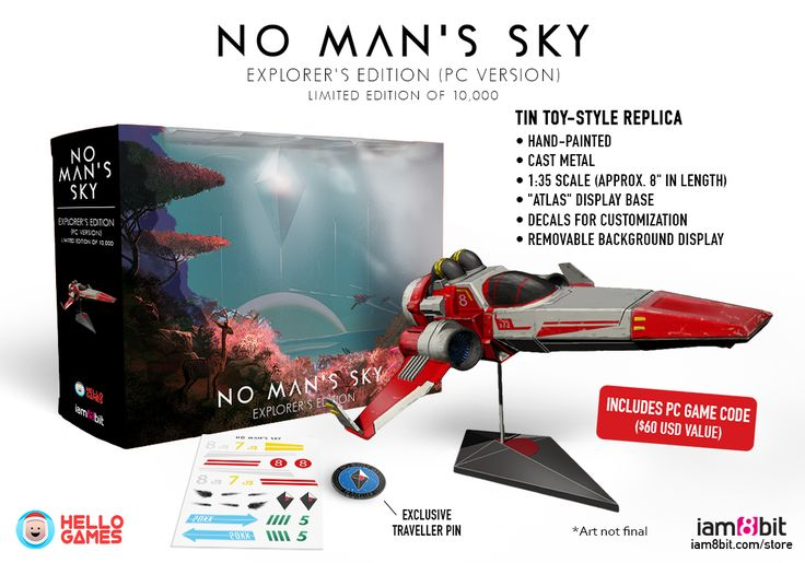 No Man's Sky: No Man's Sky release date, collector's edition announced