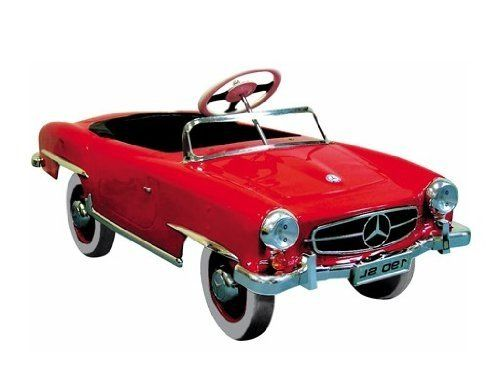 369 best images about pedal cars on pinterest for Mercedes benz pedal car