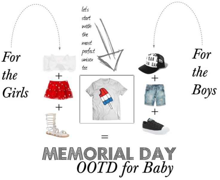 I Adore What I Love Blog // WHAT YOU SHOULD WEAR ON MEMORIAL DAY {MOM + BABY} // Memorial Day attire for Baby // www.iadorewhatilove.com #iadorewhatilove