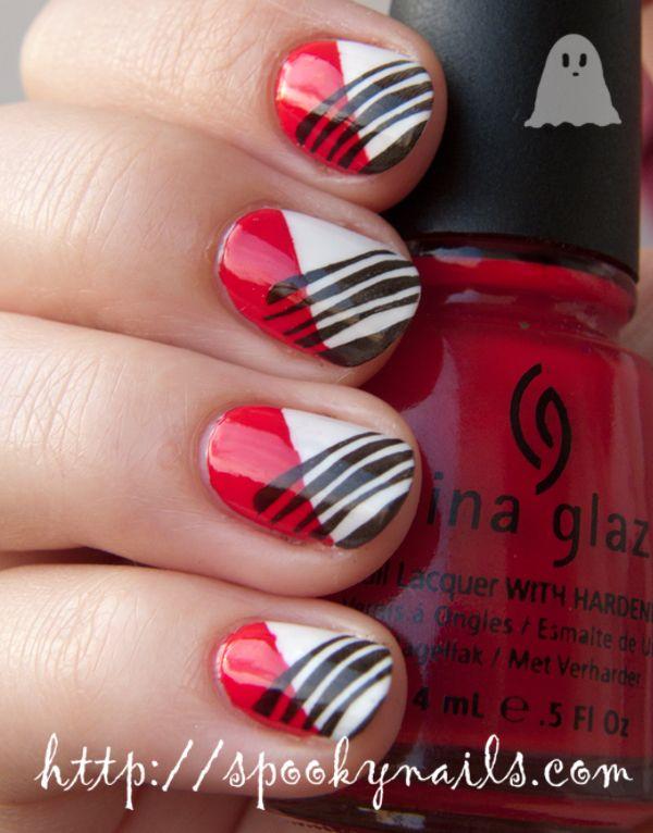 Spooky Nails #nail #nails #nailart