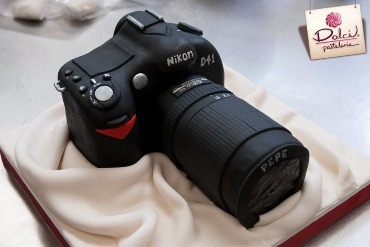 Camera Images For Cake : 19 best images about Camera Cakes on Pinterest Canon ...