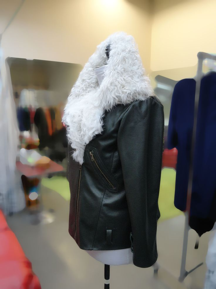 146 best Leather-Suede-Fur-Shearling images on Pinterest