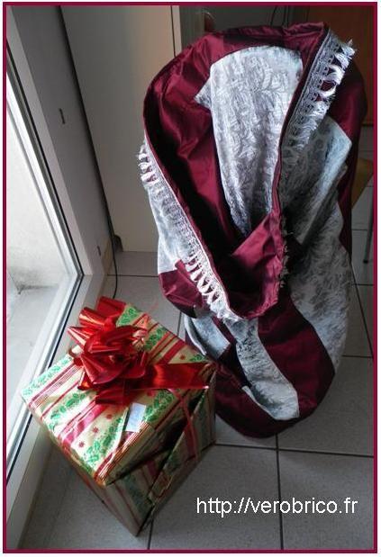 How to create a huge santa claus sac / Fabrication de la hotte du père Noel